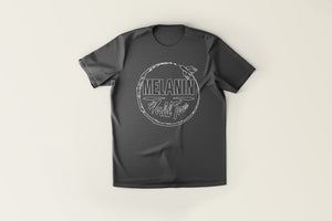 Melanin World Tour Logo Tee