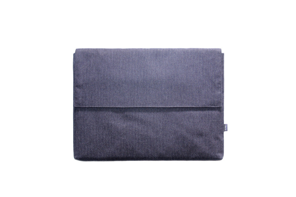 Deluxe Laptop Case - Midnight Herringbone