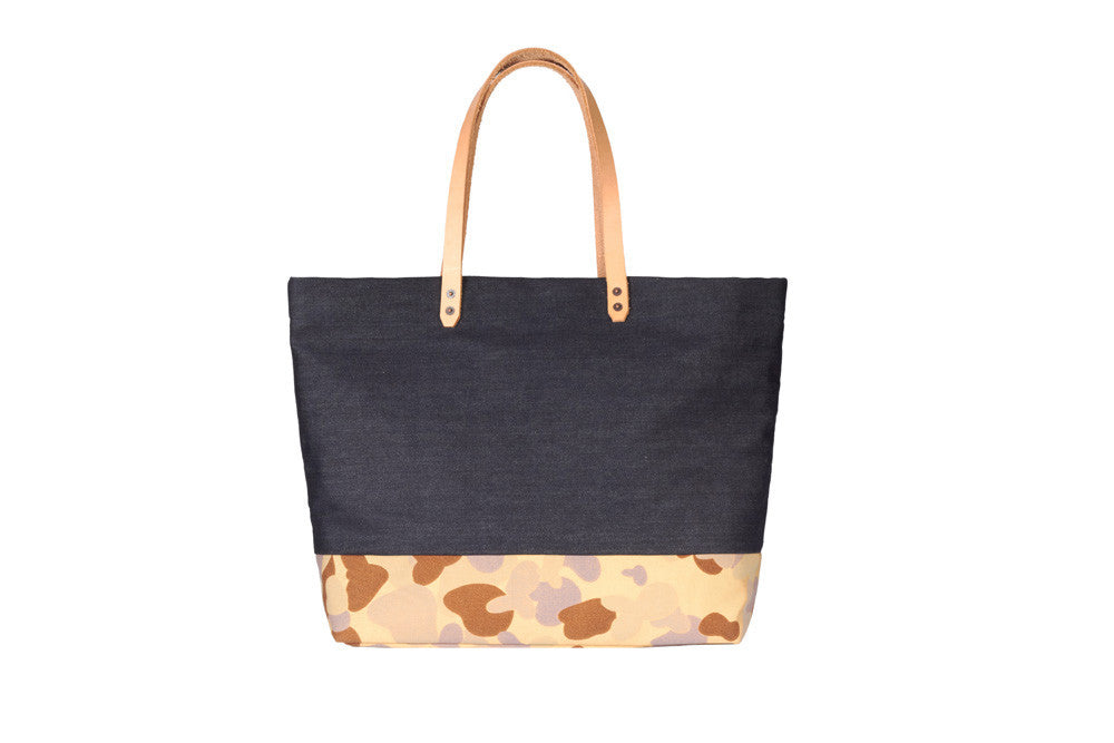 Denim Carryall - Camouflage