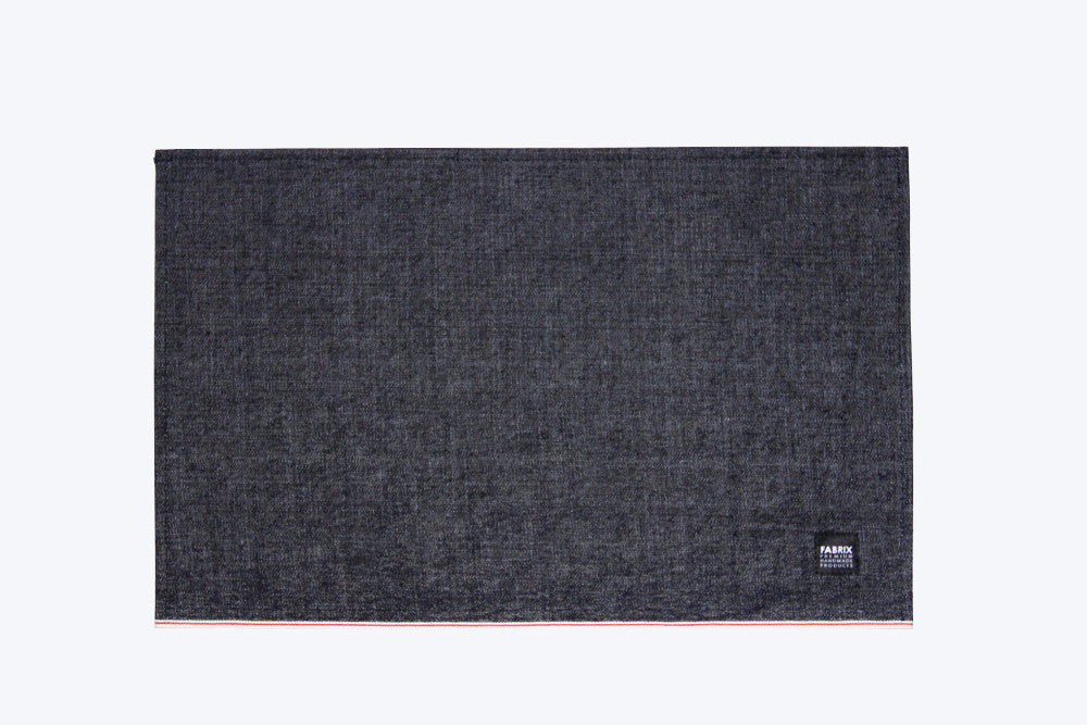 No. 4 - Denim Placemat, Raw