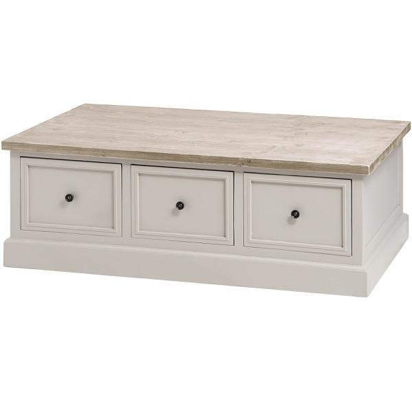 The Studley Collection 6 Drawer Coffee Table