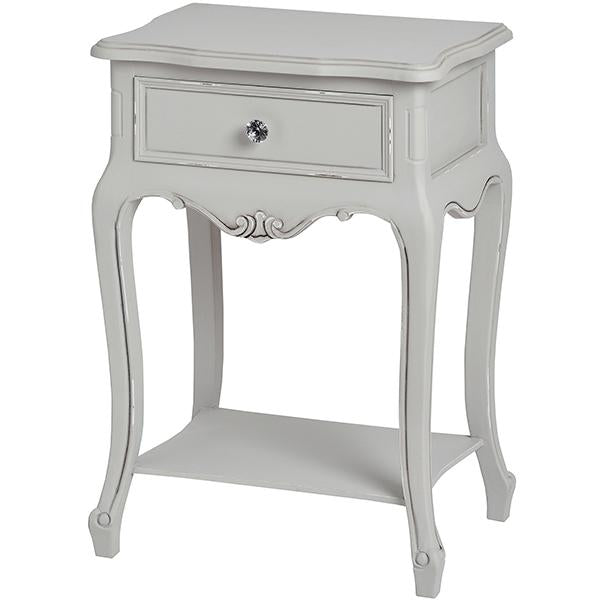 Fleur Single Drawer Lamp Table