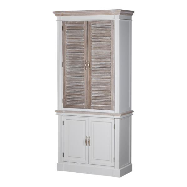 The Liberty Collection Linen Cupboard With Louvred Doors