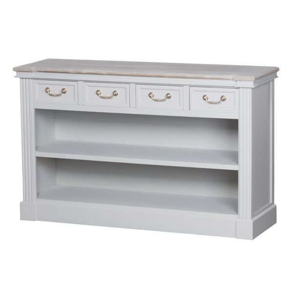 The Liberty Collection Four Drawer Low Bookcase