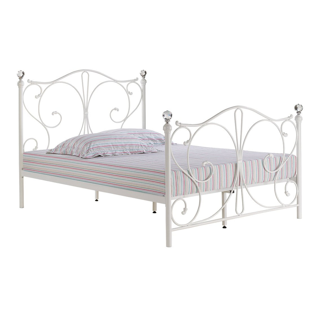 Florence 5.0 Kingsize Bed White