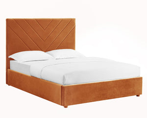 Islington Kingsize Bed Orange