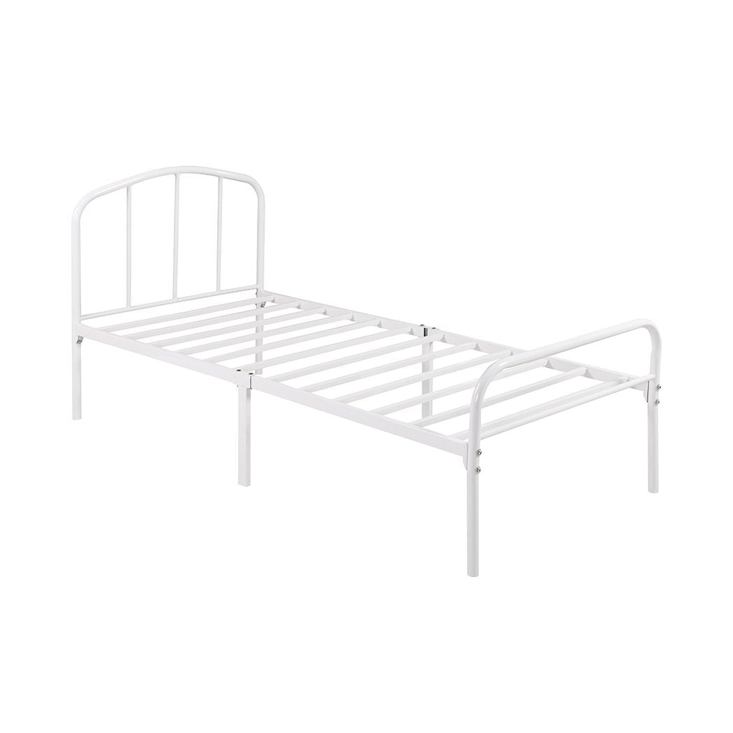 Milton 3.0 Single Bed White