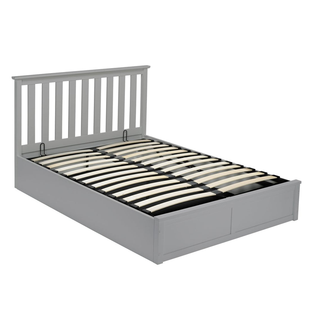 Oxford Double Bed Grey