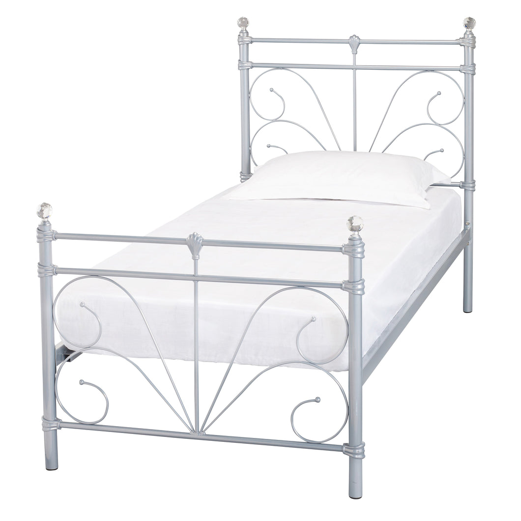 Sienna 3.0 Single Bed Silver