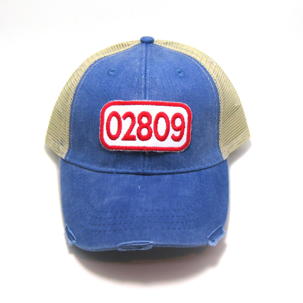 02809 Patched Trucker Hat