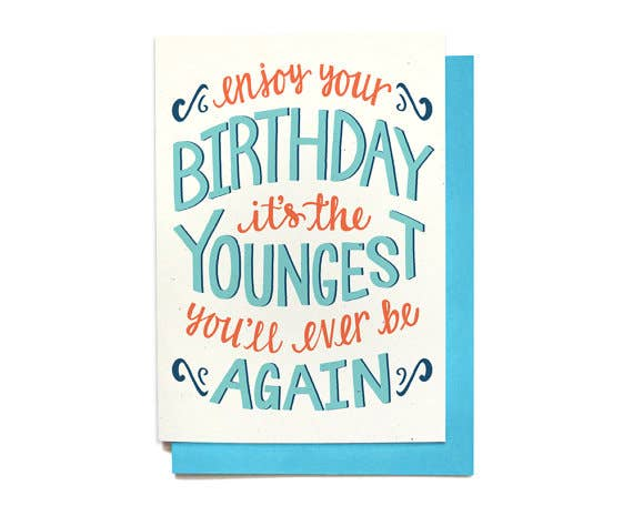 Youngest Birthday Card