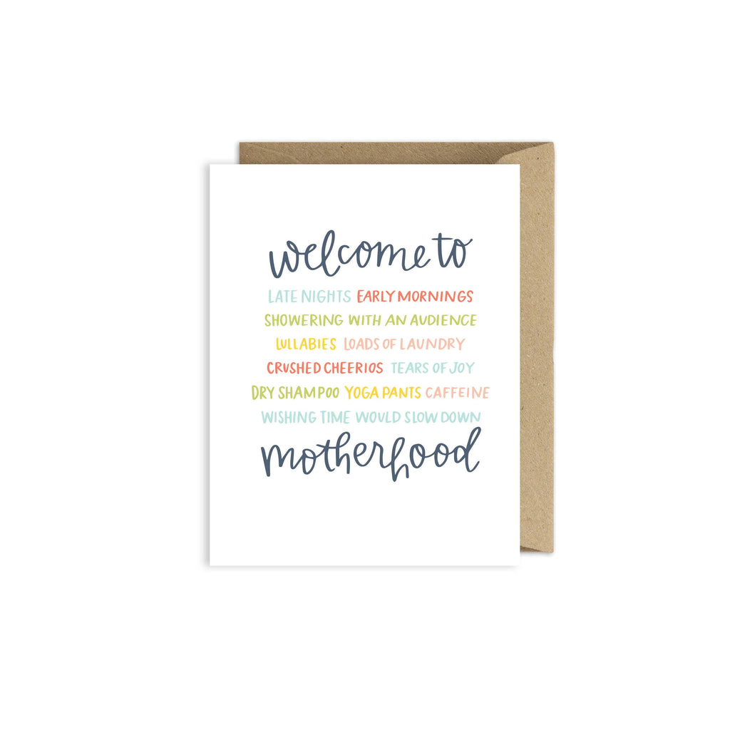 Welcome to Motherhood Card