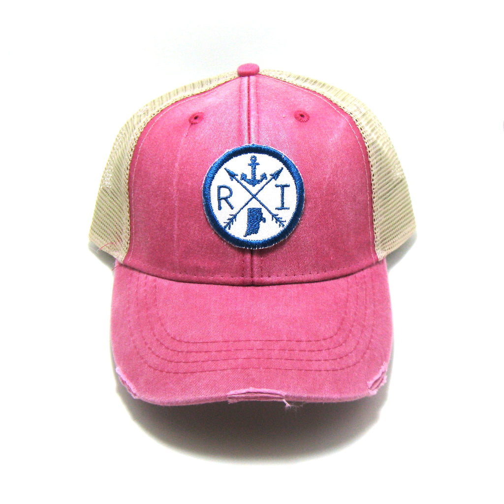 RI Arrow Trucker Hat