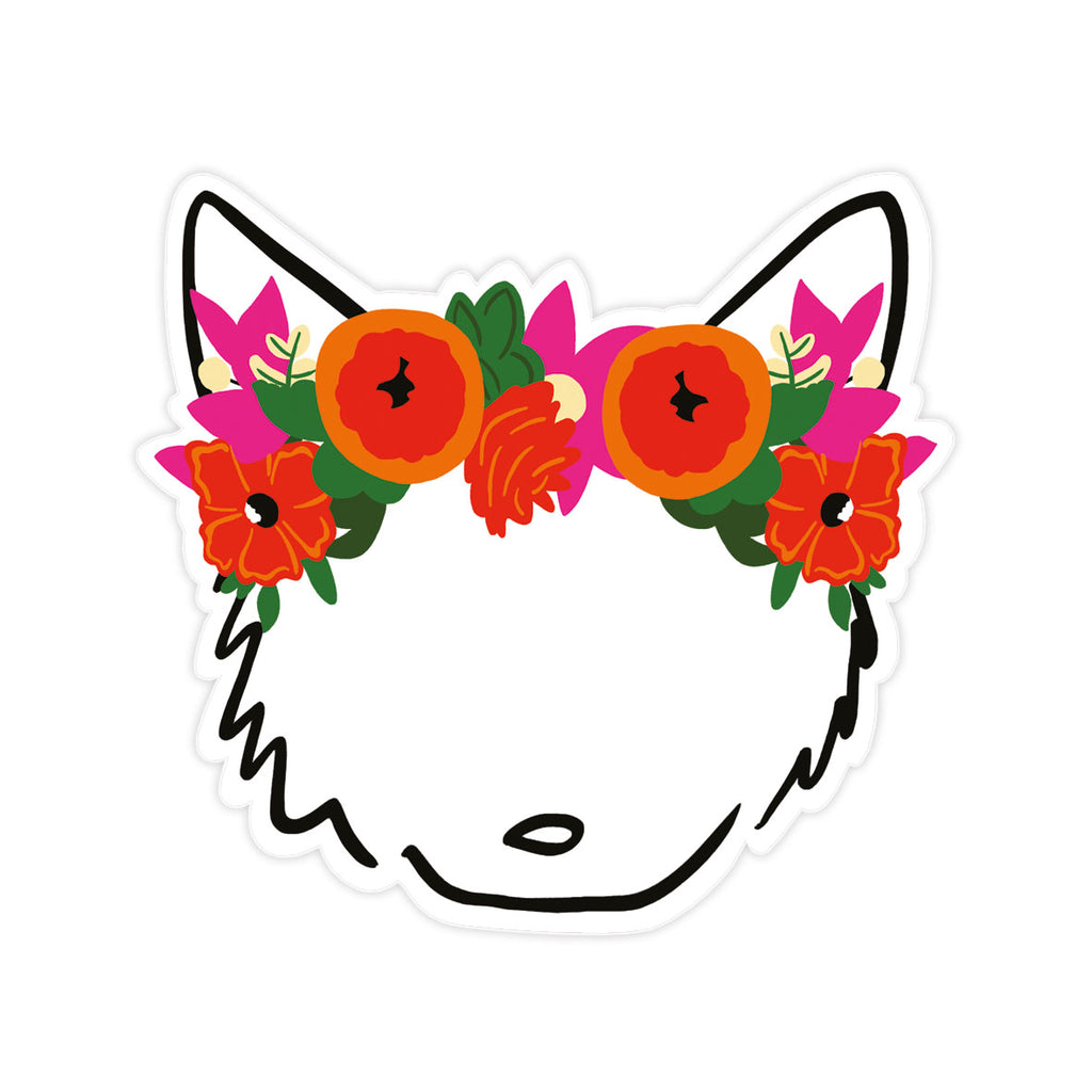 Bloomwolf Sticker
