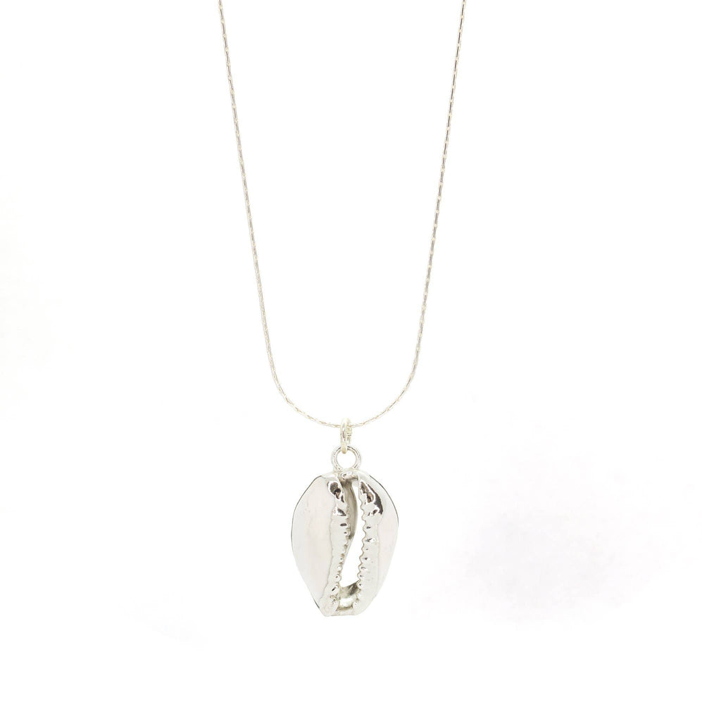 Puka Shell Silver Necklace
