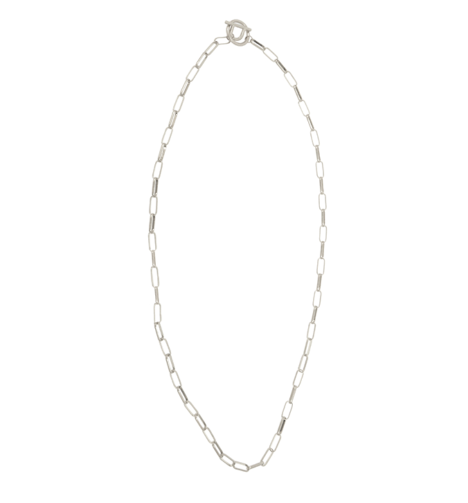 Chain Toggle Lariat Necklace