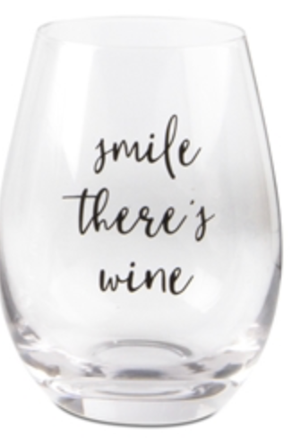 Wine Lovers Stemless Wine Glass