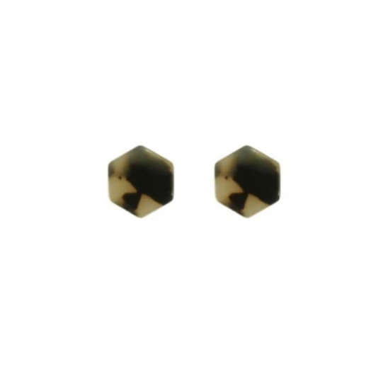 Tortoise Stud Earrings