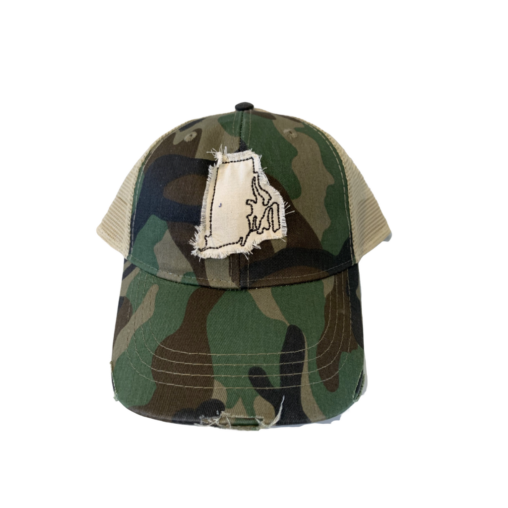 RI Camo Trucker Hat