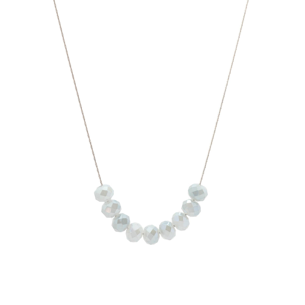 Salty Glims Gray Necklace