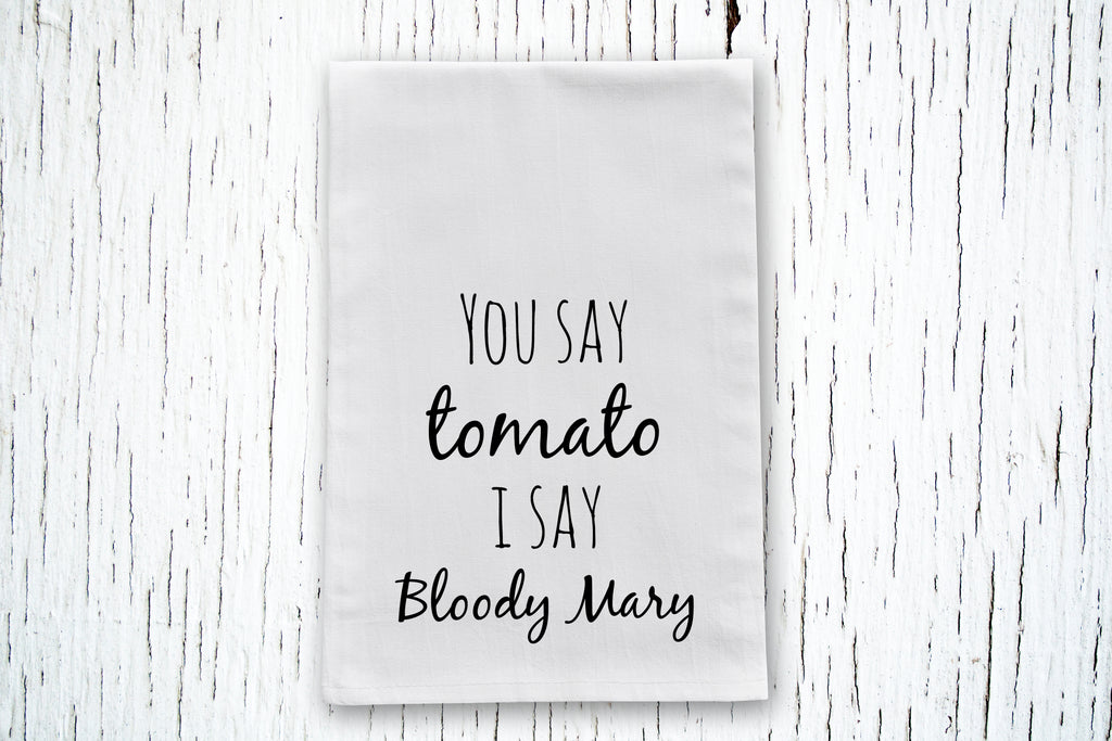 Bloody Mary Cotton Tea Towel