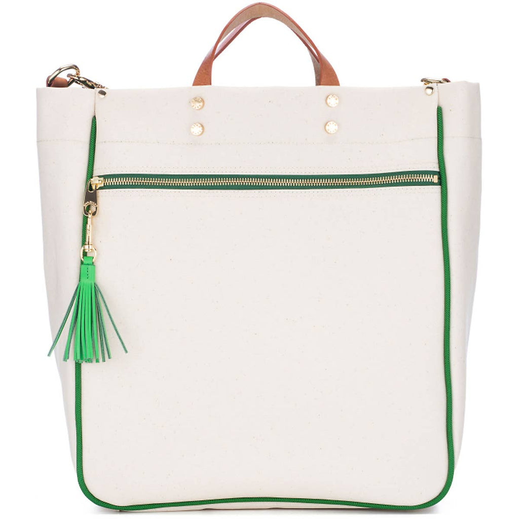 Parker Grass Canvas Tote