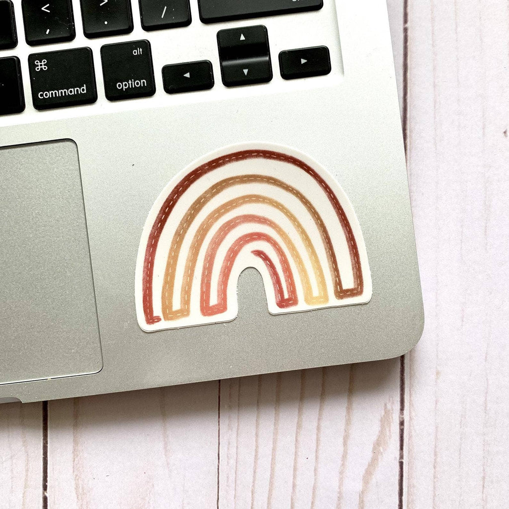 Boho Rainbow Sticker