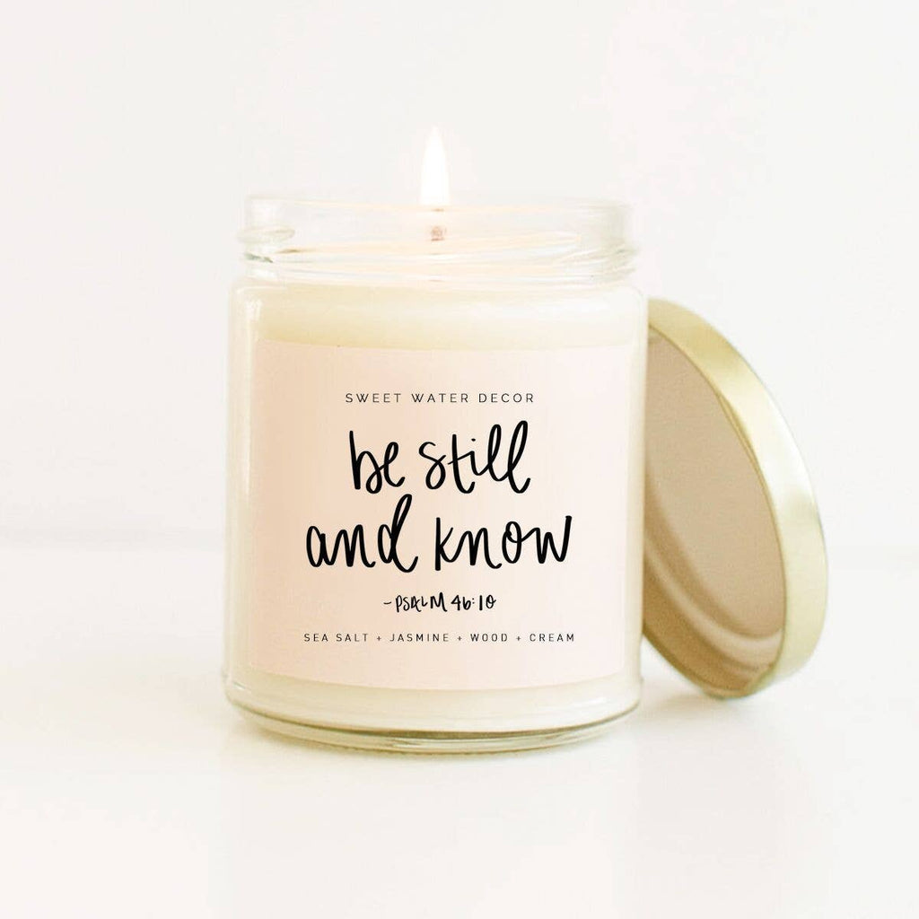 Be Still and Know Soy Candle