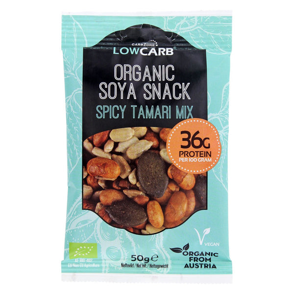 Low Carb® Bio-Soja-Snack - Tamari-Mix