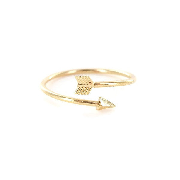 Thin Arrow Ring