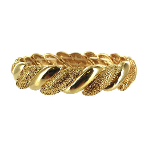 Twister Textured Stretch Bracelet