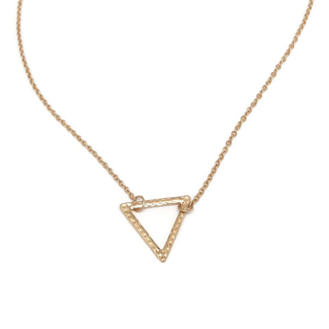 Thin Triangle Pendant