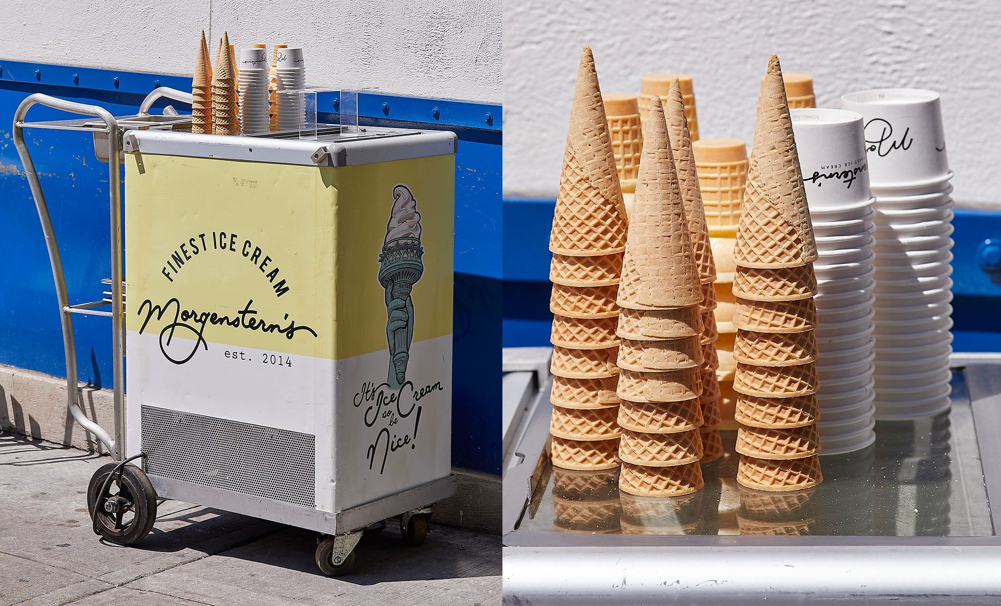 Morgenstern's Offsite Cart and Cones