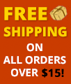 Free Shipping over $15