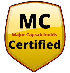 Major Capsaicinoid or MC Rated Sprays Certified