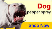 dog pepper spray