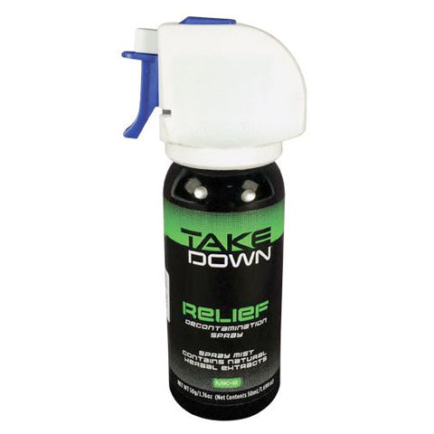 Mace Take Down OC Relief (Removing Pepper Spray, Antitdote) Decontamination Spray