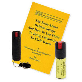 1/2 oz Keychain Pepper Spray Training Kit