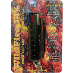 18% (1.4% MC) Wildfire Pepper Spray Keychain
