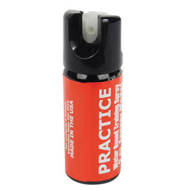 Inert Practice Pepper Spray 2 oz Fogger