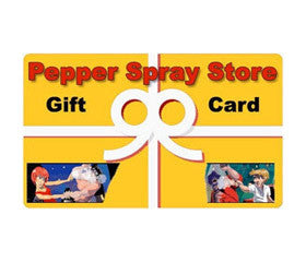 Pepper Spray Store Gift Card