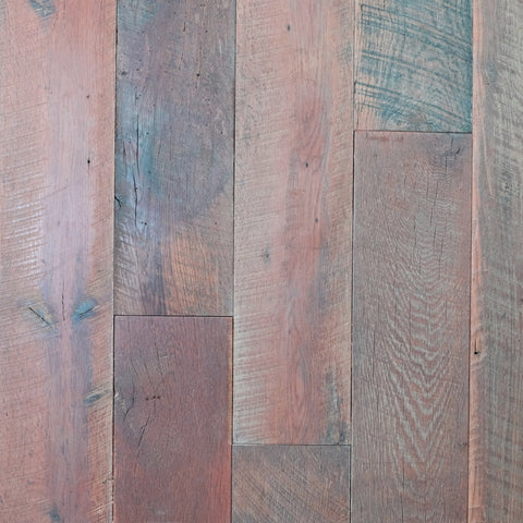 FL507 E&K Vintage Wood Aquitaine Reclaimed Oak Hit or Miss Flooring