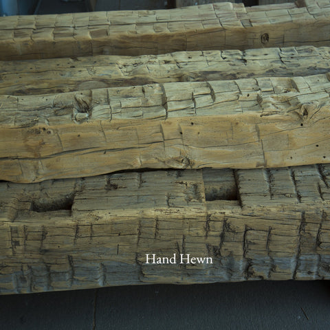 Vintage Hand Hewn Oak Beams E&K Vintage Wood
