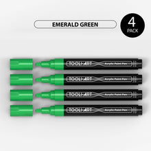 Load image into Gallery viewer, Acrylic Paint Pens 3.0mm MEDIUM Tip: 4-Pack, Your Choice of Any 1 Color