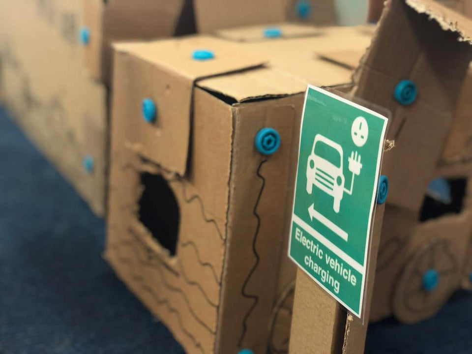 Cardboard and Environmental Education