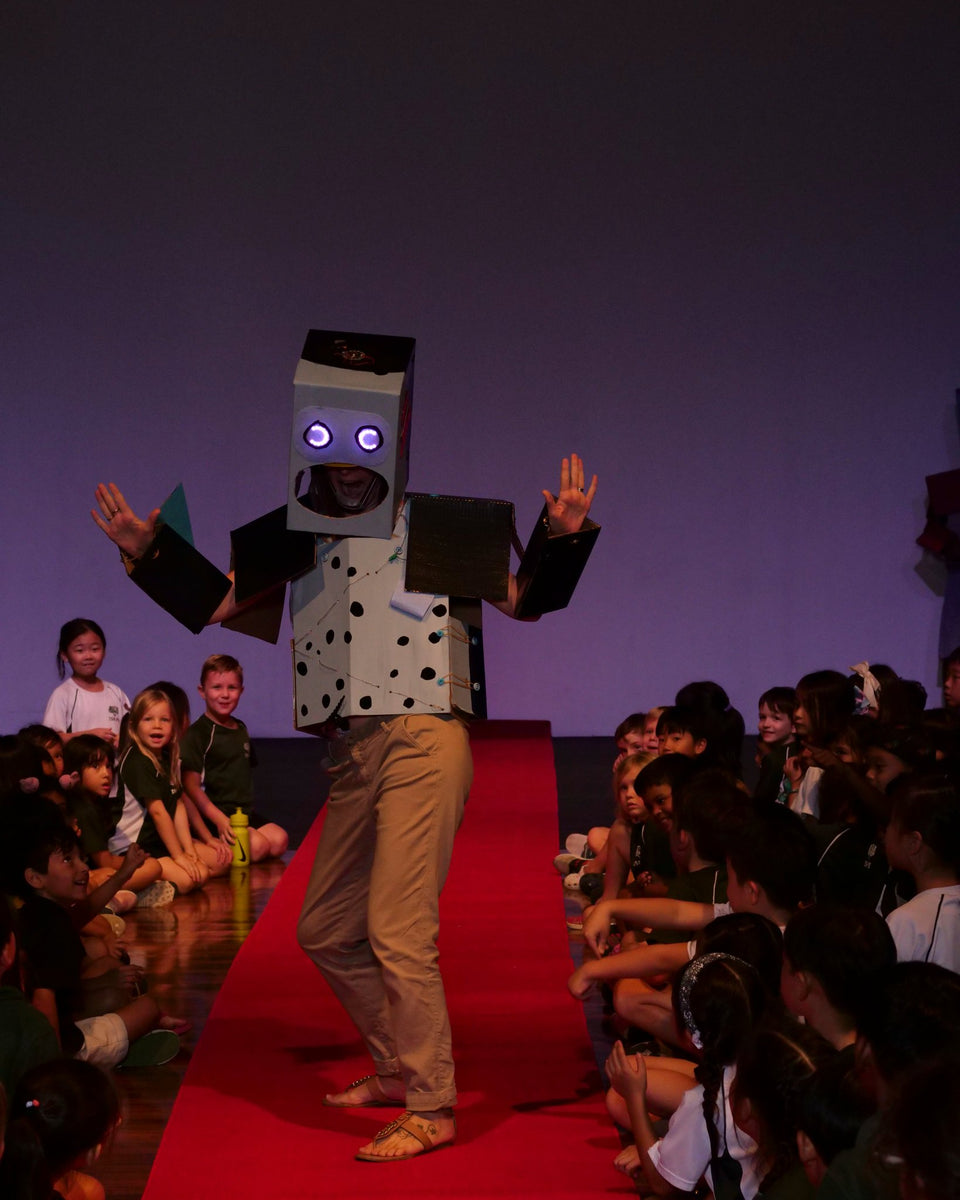 Enhanced Robot Fashion Show