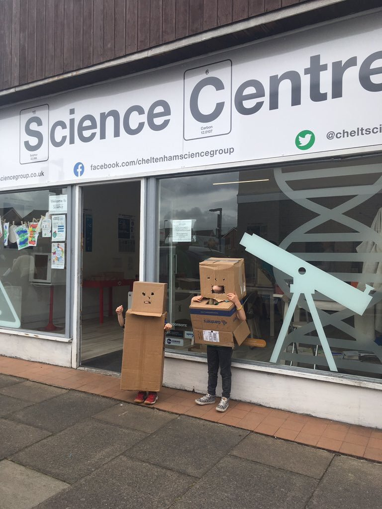 Makedo cardboard robot costumes cheltscigrp_2018-May-31