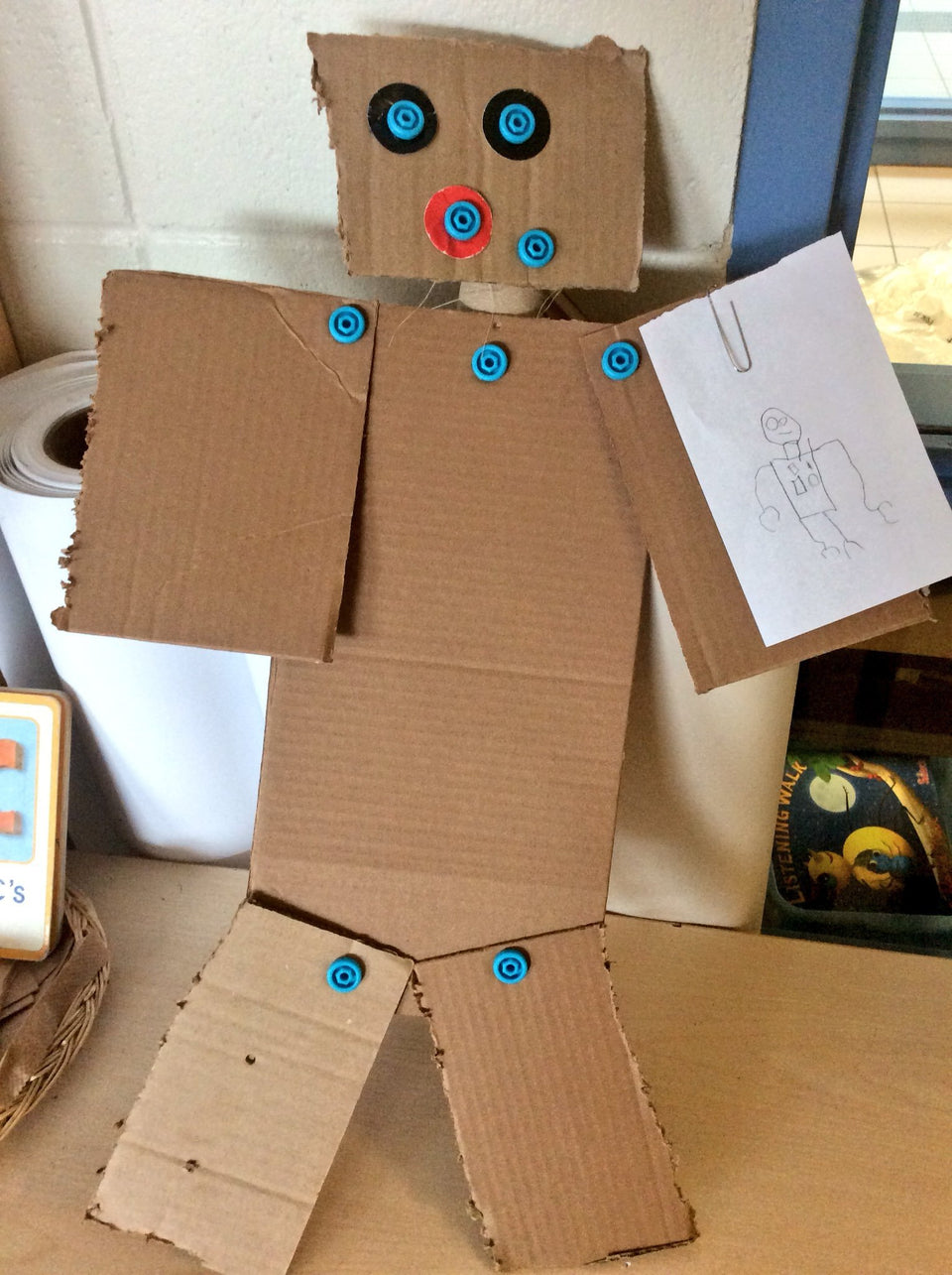 2D Robot with Self Portrait