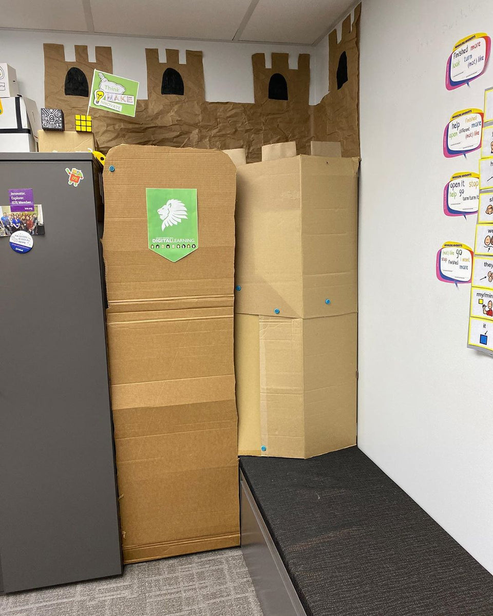 Cardboard Kingdom Tidy Barrier
