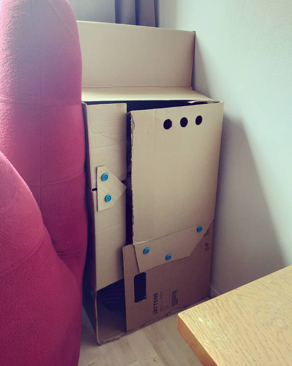 Comfy Cardboard Hideout